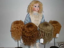 PERRUQUE en MOHAIR pour POUPEE-DOLL WIG -Taille 10 (33cm) Made in FRANCE
