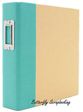 """Teal & Craft 6"""" x 8"""" inch Scrapbooking Binder Snap Studio by Simple Stories NEW"""
