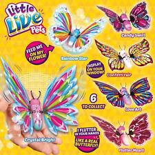 LITTLE LIVE PETS ELECTRONIC FLUTTER WINGS BUTTERFLY NEW