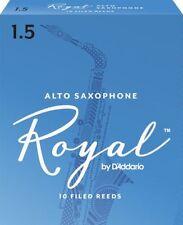 Royal by D'addario Alto Saxophone Reeds 1.5 Box of 10  RJB1015