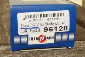 Tillig 96128 Tt Empty Packaging Diesel Locomotive V 60,Br 106,105 Dr Ob,Box,Box