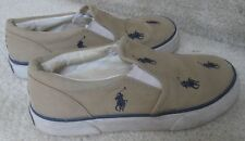 Polo Ralph Lauren Kids Slip On Shoes Size 12.5 Spinnaker II 91707 Sneakers