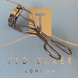 TED BAKER Rose Gold Colour Eyelash Curler - Brand NEW - Full Lash Effect