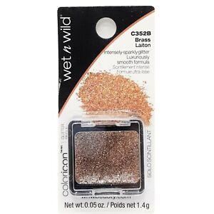 WET N WILD ~ Color Icon Face & Body Glitter Eye Shadow - BRASS #C352B