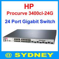 HP Procurve 3400cl-24G J4905A 24-Ports 1Gbps Gigabit Ethernet Switch - 1Yr Wty