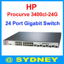 HP Procurve 3400cl-24G J4905A 24-Ports 1Gbps Gigabit Network Ethernet Switch