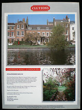 STRAWBERRY HOUSE CHISWICK MALL WEST LONDON 1pp ADVERT c1991