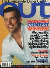 OUT - May 2003 - Queer Action Figures - McKellen and X-Men - Lesbian Life  LGBTQ