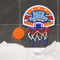 Bath Basketball Slamdunk Bathtime Hoop Game Fun Kids Toy Stocking Filler Gift