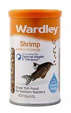 Wardley Shrimp Pellet Fish Food for Bottom and Algae Eaters - 4.5 oz