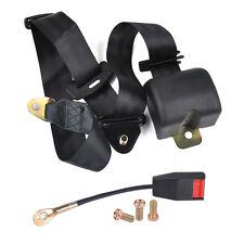 3 Point Auto Car Retractable Seat Lap Belt Safety Strap Adjustable Security