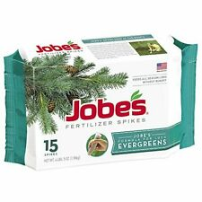 15 Jobes Evergreen Tree Food Spikes Growing Surface Spring Pine Fertilizer Stick