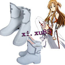 High Quality COS Sword Art Online Asuna Yuuki Cosplay Booots Cos Shoes Any Size