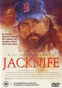 Jacknife DVD Jack Knife 1989 Robert Deniro Movie Rare Kathy Baker AUSTRALIA REG4