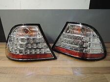 LED RÜCKLEUCHTEN + BMW 3er E46 Coupe + Tuning chrom Klarglas Heckleuchten