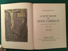 """Nachlaß PIERRE BRICE: Buch """"Don Camillo"""" aus seiner Sammlung! Mit Nachlaßstempel"""