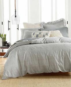 Lucky Brand Comforter Set Tile Sees Stich NIP