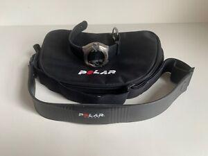 Polar M71 Titanium Sport Digital Lcd Watch with chest strap Free UK Postage
