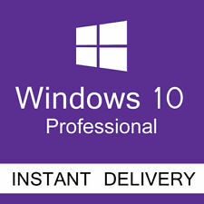 Microsoft Windows 10 PRO PROFESSIONAL License Product Key 32/64-bit WIN 10