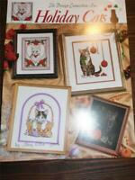 THE DESIGN CONNECTION - Counted Cross Stitch Leaflet - HOLIDAY CATS