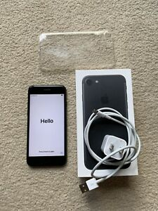 EXCELLENT Apple iPhone 7 - 128GB - Black (Unlocked) A1660 (CDMA + GSM)