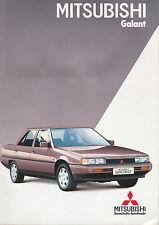 Mitsubishi -  Galant  -  Prospekt -  08/1984 - Deutsch - nl-Versandhandel