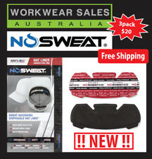 NO Sweat Cap Liners Flexfit, 3 pack cap hat liners anti sweat FREE SHIPPING