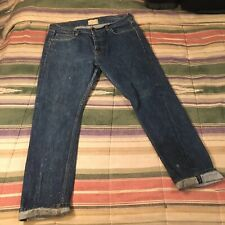 Crate California Selvedge Straight Denim Jeans 35x28
