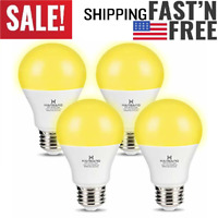 Philips Energy Saver 60 Bug A Way A19 14w 60w Yellow