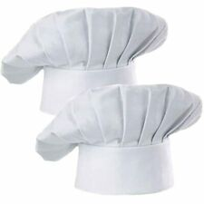 Hyzrz Chef Hat Set Of 2 Pack Adult Adjustable Elastic Baker Kitchen Cooking Cap,