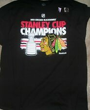 NEW NHL Chicago Blackhawks Stanley Cup 2013 Roster T Shirt XL X-Large Men NWT