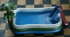 Dollhouse Miniature Kiddie Pool