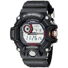 Casio G-shock RANGEMAN Atomic Solar 3 Sensor Men's Digital Black Watch GW9400-1