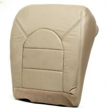 2000 Ford F-350 Diesel Lariat Driver Bottom Replacement Leather Seat Cover Tan