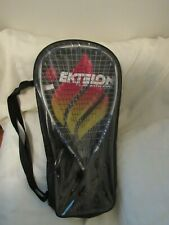 EKTELON Racquetball Racket w/Case 1000 Power Level Energy Play w/ Fire EUC