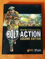 Bolt Action World War II Wargames Rules Second Edition by Osprey Games, Warlord
