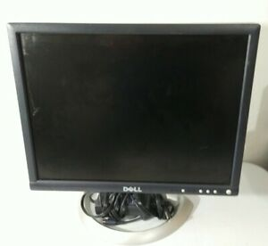 "Dell UltraSharp 2001FP 20"" wide screen LCD Monitor VGA DVI USB SOUND BAR"