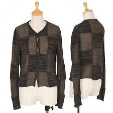 Yohji Yamamoto FEMME Block knitting knit cardigan Size K-34223(K-34223)