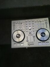 EPSILON QUAD MIX 4 Deck MIDI USB DJ Controller Mixer Soundcard& Software White