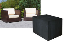 Housse pour fauteuil de jardin gamme confort medium noir