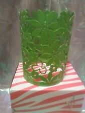 Pink Zebra Lime Green Daisy Shade