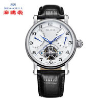 Seagull Men's Automatic watch Power Reserve Flying wheel Multi-function calendar