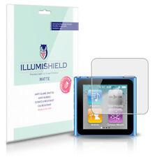 iLLumiShield Matte Screen Protector w Anti-Glare/Print 3x for Apple iPod nano 6