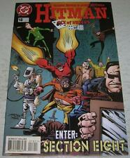 HITMAN #18 (DC Comics 1997) 1st appearance of SECTION EIGHT (VF-) Garth Ennis