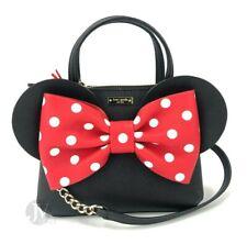 Kate Spade (WKRU6606) KSNY x Minni Mouse Mini Maise Saffiano Leather Hand Bag