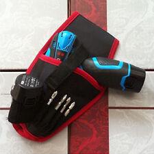Portable Drill Holder Holst Pouch Cordless Tool Oxford Drill Waist Tool Belt Bag