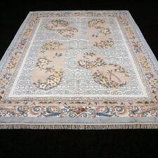 Orient Teppich Seide 307 x 244 cm China Seidenteppich Oriental Silk Carpet Rug