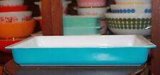 Vintage Pyrex Horizon Blue utility Dish #933