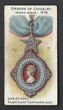 TADDY - ORDERS OF CHIVALRY, SECOND SERIES - #8 STAR OF INDIA