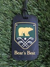Bear's Best Designed by Jack Nicklaus, Las Vegas/Atlanta Plastic Golf Bag Tag